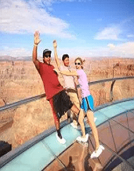 Grand Canyon Helicopter Landing Plus Skywalk