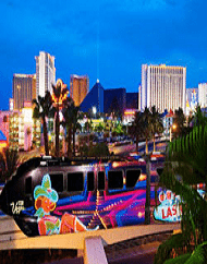 Las Vegas Monorail Passes - Convenient Travel Along The Vegas Strip