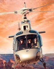 Sky Dancer Sunset Grand Canyon Helicopter Landing Tour
