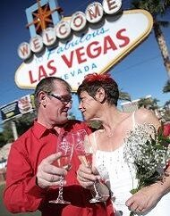 Las Vegas Sign Wedding Ceremony Vow Renewal Package