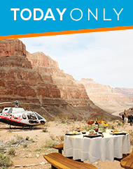 Grand Canyon VIP Sunset Helicopter Landing Tour Plus Gourmet Dinner