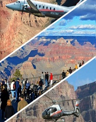 Canyon Dream Airplane & Helicopter Combo Tour