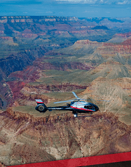Grand Canyon Dancer Helicopter Tour Departs South Rim