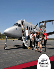 Maverick Airlines Tribal Spirit Airplane and Helicopter Combo Tour