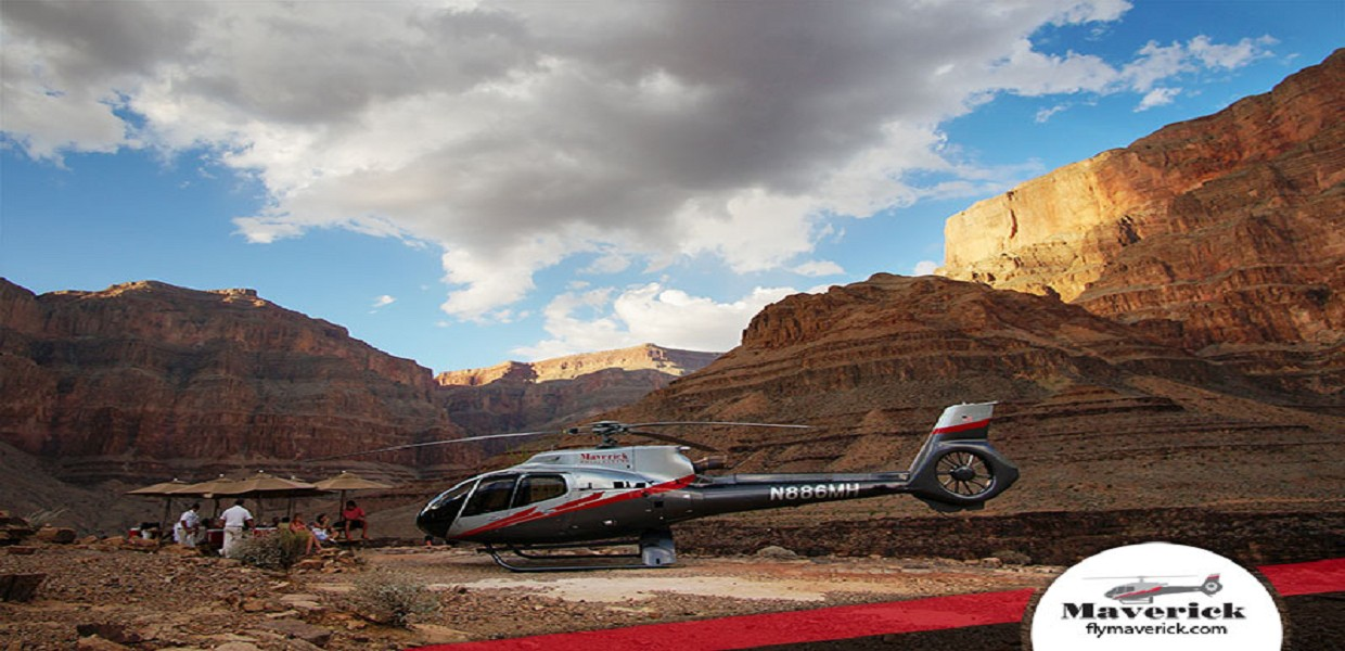 Grand Canyon Helicopter Wind Dancer Floor Landing Tour
