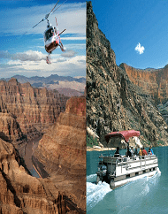 Grand Canyon West Rim Drive Fly Float Tour Pink Jeep
