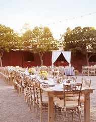 Legends Private Ranch Wedding Vow Renewal Package