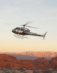 Valley of Fire Helicopter Wedding Ceremony Package