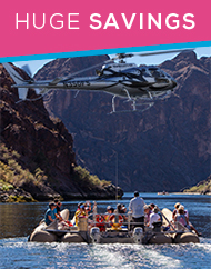 Black Canyon River Rafting Tour and Grand Canyon Helicopter Flight