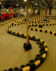 Las Vegas Indoor Kart Racing Pole Position
