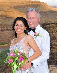 Desert Dreams Sunset Grand Canyon Helicopter Wedding