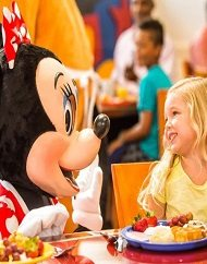 Minnie Mouse Breakfast Bash and Limousine Fun