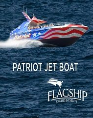 Flagship Cruises San Diego Patriot Jet Boat Thrill Rides